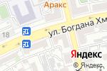Схема проезда до компании Гамма в Астрахани