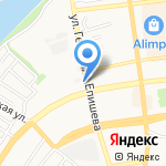 Снабженческое предприятие на карте Астрахани