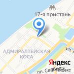 Норма права на карте Астрахани