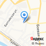 Мэтр-Дент на карте Астрахани