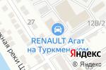 Схема проезда до компании АГАТ-Плюс в Астрахани