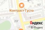 Схема проезда до компании Белорусские продукты в Астрахани