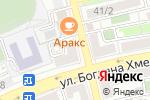 Схема проезда до компании Каприз в Астрахани