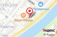 Схема проезда до компании Симен Сервис в Астрахани