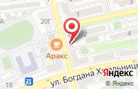 Схема проезда до компании МБИ-Астрахань в Астрахани