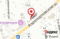 Схема проезда до компании 5 звезд в Астрахани