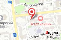 Схема проезда до компании УСК Стройкомплекс в Астрахани