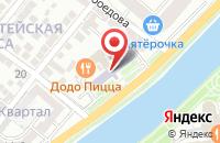Схема проезда до компании Эко-Лайн в Астрахани
