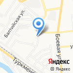 РЕСО-Гарантия на карте Астрахани