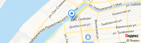 СтройЛегион на карте Астрахани