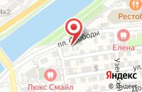 Схема проезда до компании ОптСтройГрупп в Астрахани