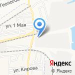 Союз-Телефонстрой на карте Астрахани