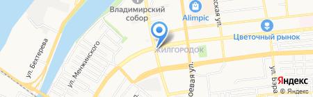 Почтовое отделение №24 на карте Астрахани