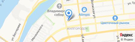 Мой Город на карте Астрахани