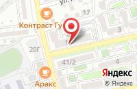 Схема проезда до компании КАЕМ в Астрахани
