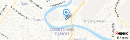 ПЭК на карте Астрахани
