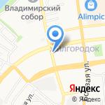 Автоэконом на карте Астрахани