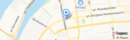 Уютный уголок у Елены на карте Астрахани