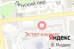 Схема проезда до компании Старт в Астрахани