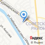 Хлеб Рыболовский на карте Астрахани