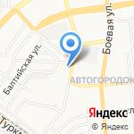 Вундеркинд-сити на карте Астрахани