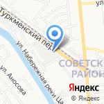 Миг-Мебель на карте Астрахани