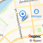 Альфа-Прайм на карте Астрахани