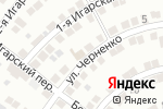 Схема проезда до компании Белая полоса в Астрахани