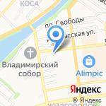 Абонентская служба на карте Астрахани