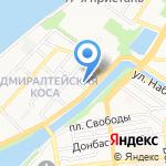 Адмирал на карте Астрахани