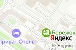 Схема проезда до компании Бережок в Астрахани