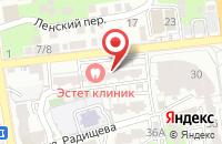 Схема проезда до компании Ваше право в Астрахани