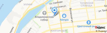 Центр Подготовки и Развития Массажистов на карте Астрахани