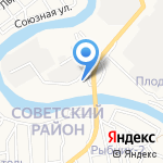 Областное общество охотников и рыболовов на карте Астрахани