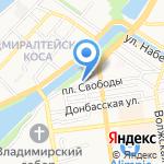 Конкорд Орион на карте Астрахани