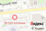 Схема проезда до компании Пальто на Бакинской в Астрахани