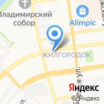 Астхимчистка на карте Астрахани