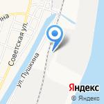Горсвет на карте Астрахани