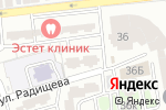 Схема проезда до компании Добрый в Астрахани
