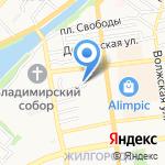 Добрый на карте Астрахани