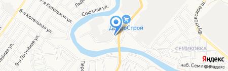 Арано на карте Астрахани