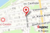 Схема проезда до компании Гран-При в Астрахани