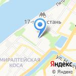 Оффис на карте Астрахани