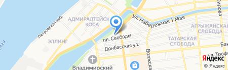 А-Стиль на карте Астрахани