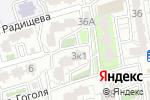 Схема проезда до компании Гарантстройсервис в Астрахани