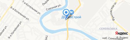 ВАЛС на карте Астрахани