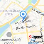 Медицинские комиссии на карте Астрахани