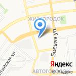 Детский сад №88 присмотра и оздоровления на карте Астрахани