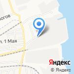 Мостоотряд №83 на карте Астрахани