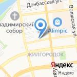 Астраханский оконный завод на карте Астрахани
